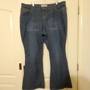 Fashion Bug Size 26 Wide leg Jeans